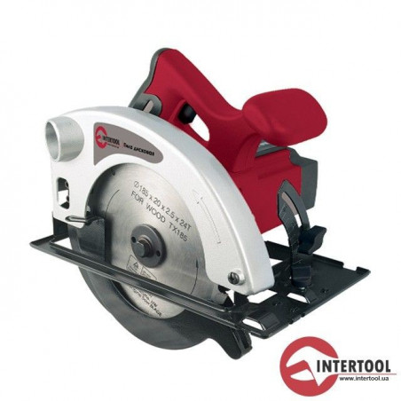 Пила дисковая INTERTOOL DT-0612