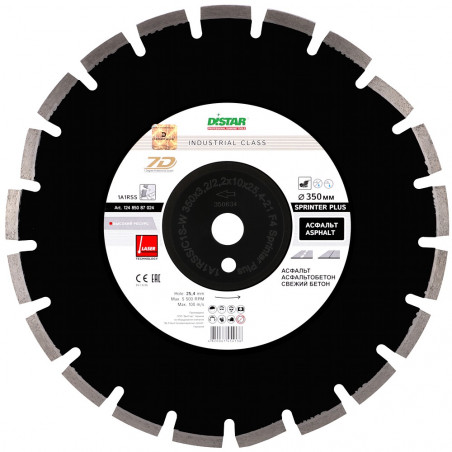 Диск Distar 1A1RSS/C1S-W 350x3,2/2,2x10x25,4-21 F4 Sprinter Plus