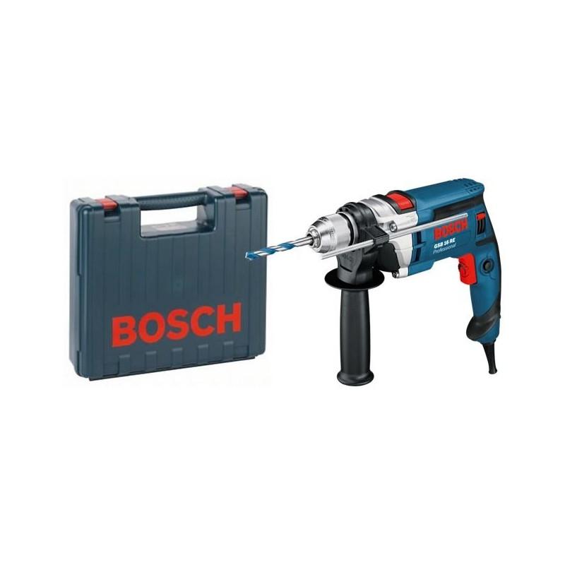 Дрель ударная Bosch GSB 16 RE (Чемодан)