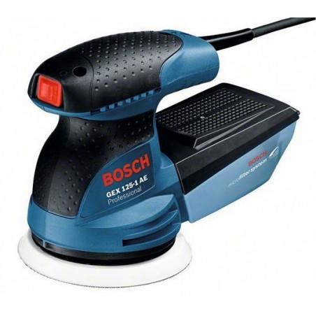 Шлифмашина эксцентрик Bosch GEX 125-1 AE (Картон)