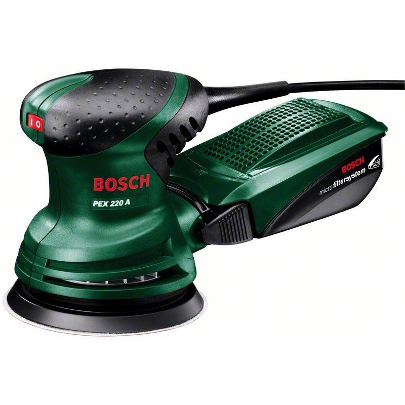 Шлифмашина эксцентрик Bosch PEX 220 A