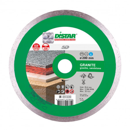 Диск Distar 1A1R 230x1,6x10x25,4 Granite